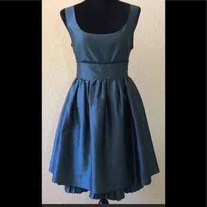 NWT - KENSIE SIDE ZIP SILK DRESS